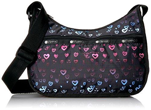 LeSportsac Classic Hobo Handbag, (Heart Hobo)