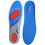 Gel Outdoors Work Shoe Insoles - Providing Excellent Shock Absorption and Cushioning, Best Insoles for Men and Women for Everyday Use, Men's 8-8.5 / Women's 9-9.5