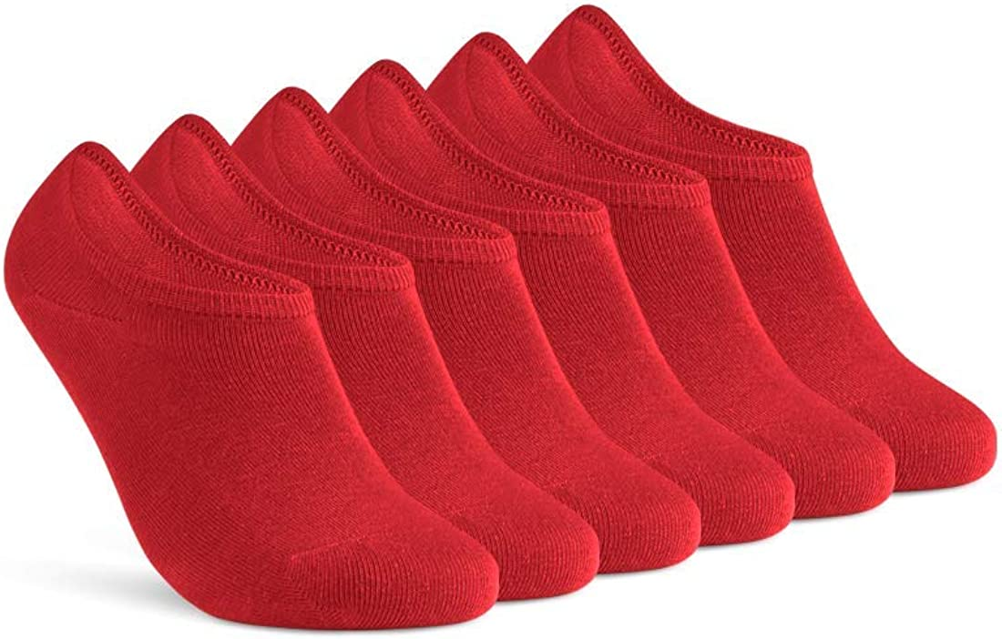 sockenkauf24 Unsichtbare Sneaker Socken Herren /& Damen 6 Paar F/ü/ßlinge mit Silikonpad gegen Verrutschen