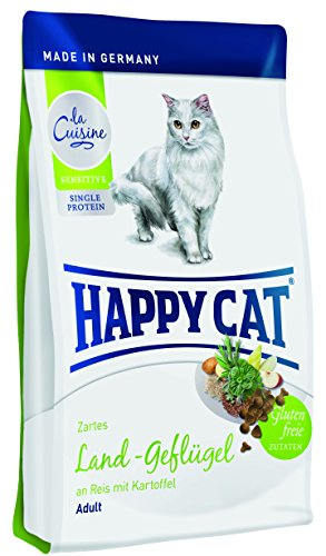 Happy Cat Katzenfutter 70132 La Cuisine Bio Geflügel 4 kg