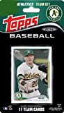 2014 Topps Oakland Athletics Factory Sealed Special Edition 17 Card Team Set with Yoenis Cespedes Plus