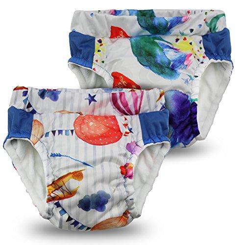 Kanga Care Lil Learnerz Toilet Training Pants, Lava & Soar, Medium (Lava Pants)