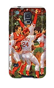 1542610K962579771 cincinnati reds MLB Sports & Colleges best Samsung Galaxy S5 cases