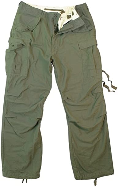 Vintage M65 Field Mens Pants Olive Drab