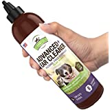 Cat Dog Ear Cleaner Solution - Pet Cleaning Ear Wash + Aloe - 8 oz - Ear Infection Treatment for Dogs Cats, Yeast, Mite, Odor, Itching, Otitis Externa, Wax, Antibacterial Antifungal Otic Cleanser, USA