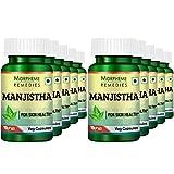 Morpheme Manjistha (Rubia Cordifolia) 500mg Extract 60 Veg Caps (Pack of 10) For Sale