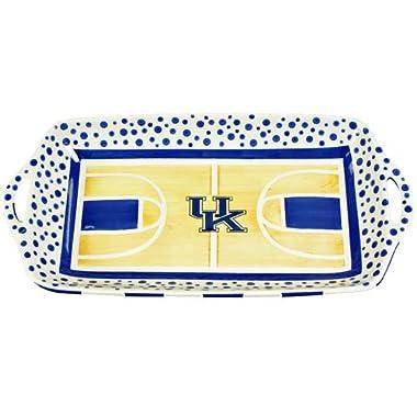 Basketball Court Serving Platter by Magnolia Lane (Kentucky Wildcats)