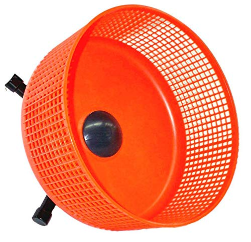 Atticworx Sugar Glider Wheel, 12-inch Freedom 19 Wheel, Orange with Cage Side Mount by Atticworx