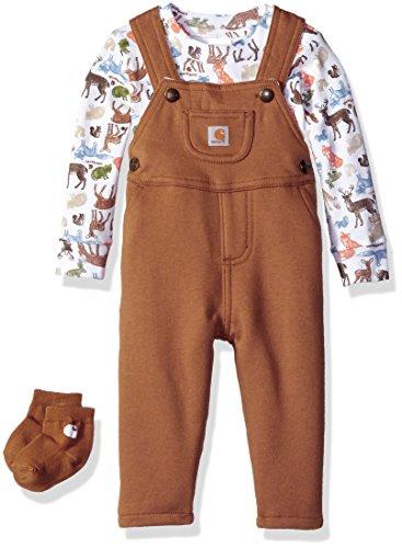 Carhartt Baby Boys' Sets, Carhartt Brown Print, 24 Months