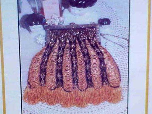 Queen of Diamonds Vintage Beaded & Knit Purse Pattern