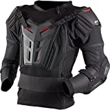 EVS Comp Suit Adult Ballistic Jersey MotoX Motorcycle Body Armor - Black / Large
