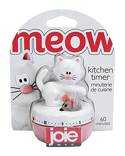 Joie Meow Cat 60-Minute Kitchen Timer Home Decor Products