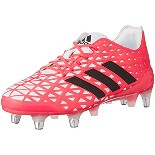 quality design 95053 2dc33 adidas Kakari Light Sg, Chaussures de Rugby Homme, Rouge, UK durable service