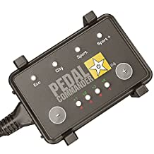 Pedal Commander throttle response controller PC31 for Jeep Wrangler, Grand Cherokee, Commander & Liberty - get increased performance or save fuel up to 20%