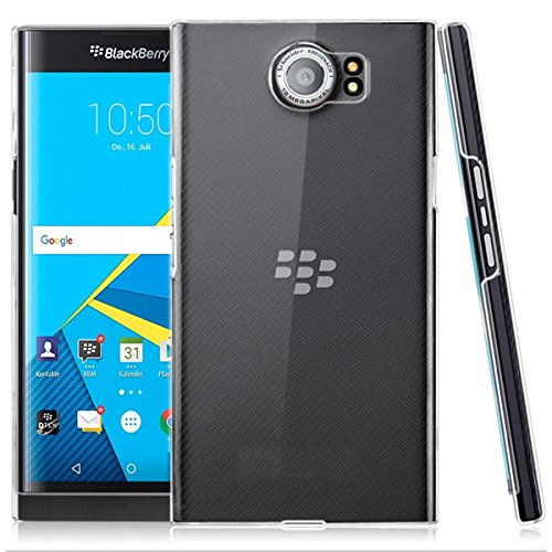 21 opinioni per Trasparente Clear Custodia per Blackberry Priv 4G/LTE 8Gb/16Gb smartphone- Funda