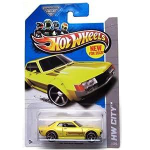 Hot Wheels HW City 1/250 Yellow '70 Toyota Celica