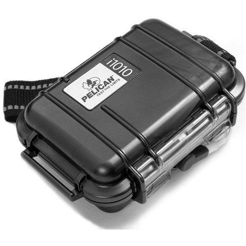 - Pelican i1010 Waterproof Case for iPod (Silver)