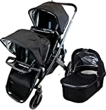 UPPAbaby 2015 Vista Stroller with Rumble Seat and Snack Trays, Jake