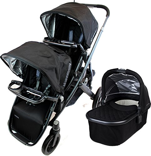 UPPAbaby 2015 Vista Stroller with Rumble Seat and Snack Tray