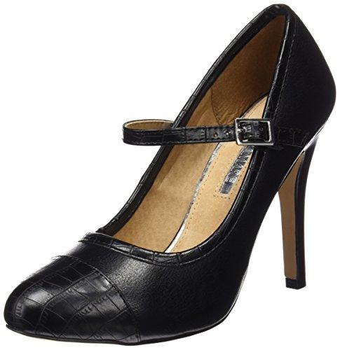 Tacón Originals Cerrada Negro Mujer Para Bombeado 61314 Mtng Con Negro De Punta Zapatos croco aIwO0Ondxq