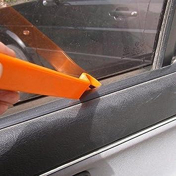 Skyshadow Hebel Werkzeug Zum Entfernen Von Klemmen Blenden Armaturenbrett Audioradio Autotür 4 Stück Auto