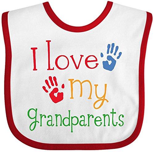 - I Love My Grandparents Baby Bib Cecil Beard