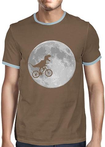 latostadora - Camiseta Bicicleta de Dinosaurio para Hombre ...