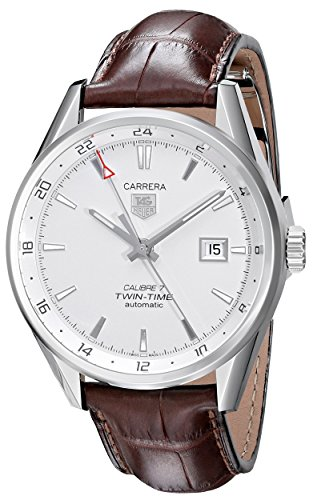 TAG Heuer Men's WAR2011.FC6291 Analog Display Swiss Automatic Brown Watch