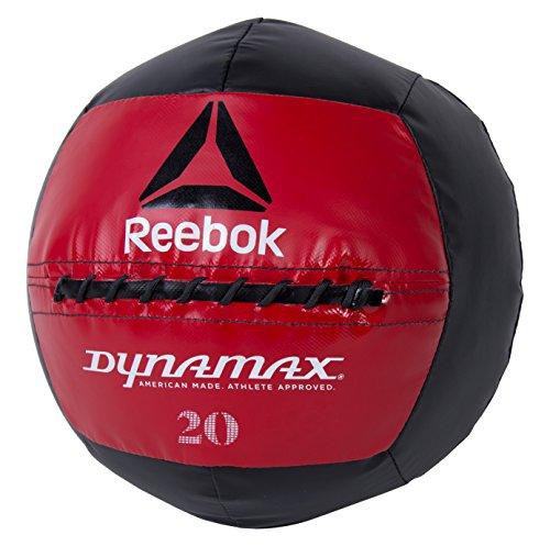 Reebok Soft-Shell Medicine Ball by Dynamax, 20 lbs (Soft Wall Shell)
