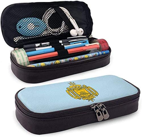 YOLOP Federmäppchen US Navy Naval Academy Pencil Case Pen Bag Pouch Holder Makeup Bag for School Office College