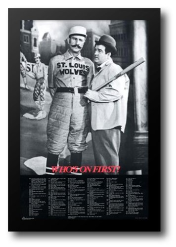 Abbott and Costello: Who's On First? Framed Art Print