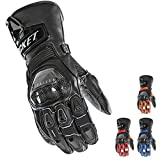 Joe Rocket Men's GPX Motorcycle Gloves (Black/Red, Medium)
