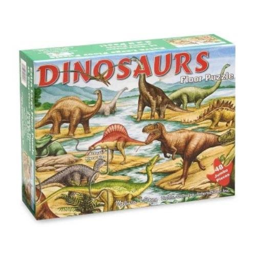 Dinosaurs: 48 Pieces Floor