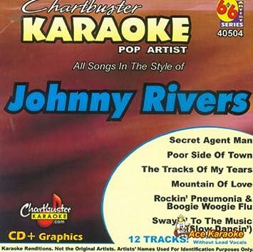 Chartbuster POP6 Karaoke CDG CB40504 - Johnny Rivers