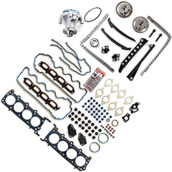 ROADFAR Timing Chain Kit Head Gasket Set for Ford Expedition 5.4L 2007-2008