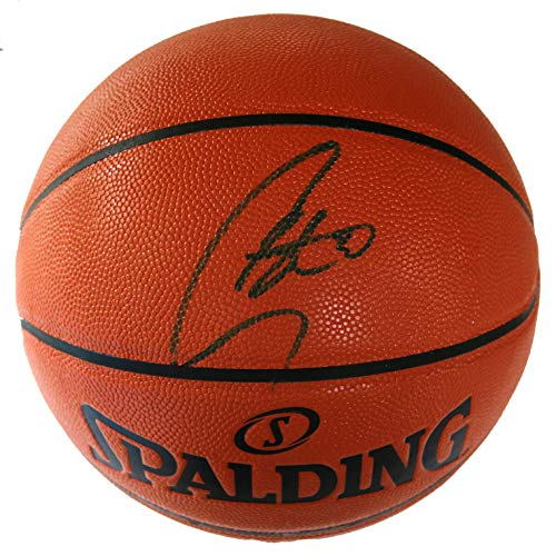Stephen Curry Golden State Warriors Signed Autographed Spalding NBA Game Ball Series Basketball CAS COA