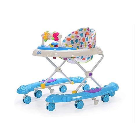 Bebé bebé niño andador, prevención de vuelco multifunción ...