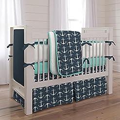 51wBd5cqROL._SS247_ Anchor Crib Bedding Sets and Anchor Nursery Bedding