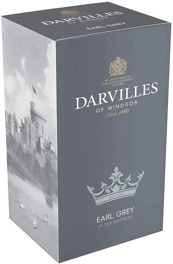 ダーヴィルス・オブ・ウィンザー アールグレイ ティーバッグ Darvilles of Windsor EARL GREY 25 Tea Bags