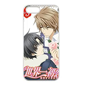 Japanese Hot Boys' Love Anime Series Sekai-ichi Hatsukoi TPU Iphone 5 5s Cases World First Puppy Love Iphone 5 5s Covers Protectives (23)