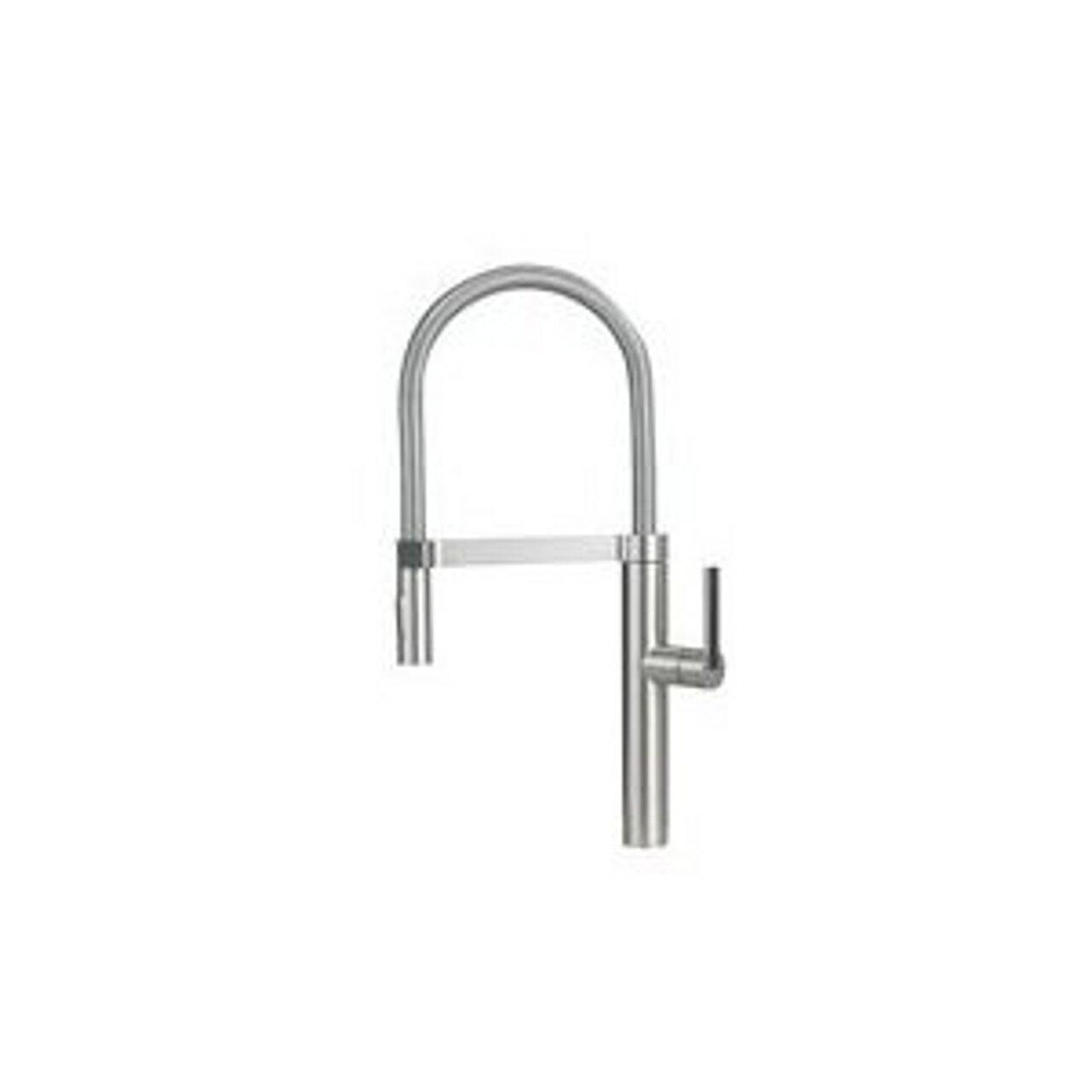 Blanco 441407 1.8 GPM Culina Semi-Pro Faucet, Satin Nickel