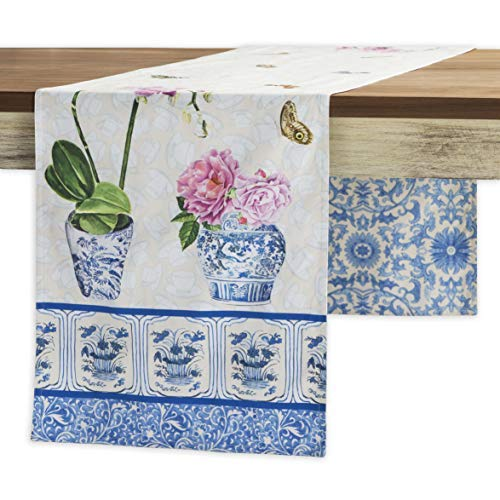 Maison d' Hermine Canton 100% Cotton Table Runner 14.50 Inch