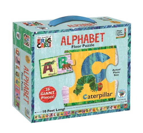 Abc Caterpillar - The World of Eric Carle Alphabet Floor Puzzle