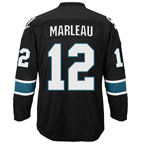Men's San Jose Sharks Patrick Marleau #12 Black Alternate Premier Jersey XL