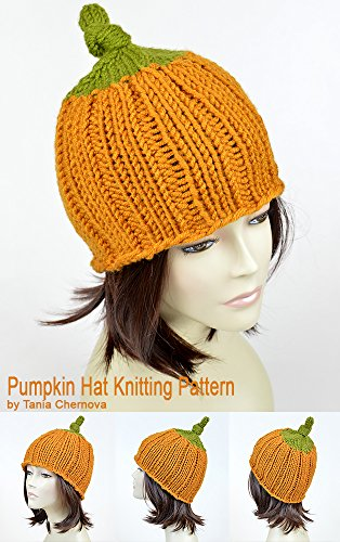 Jack O Lantern Hat Pattern Halloween Hat Pumpkin Beanie Halloween Clothing Knitting Pattern Halloween Beanie Pumpkin Hat Halloween Costume Womens Hat Mütze Stricken Bonnet Femme Knit Pattern Knit Hat -