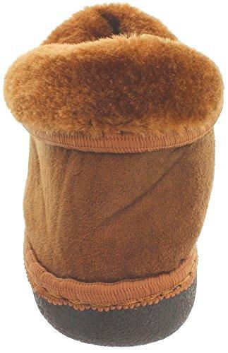 MIK Funshopping - Pantuflas Mujer marrón