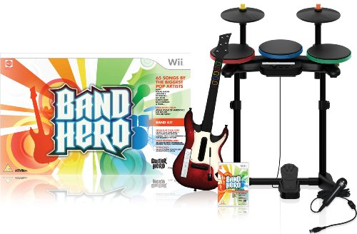 Rock Band Bundle Wii (Wii Band Hero featuring Taylor Swift - Super Bundle)
