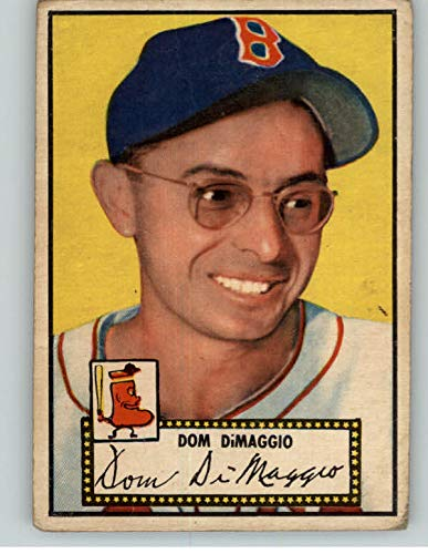 1952 Topps #22 Dom DiMaggio Red Sox Red VG 359572 Kit Young Cards