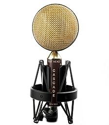 Cascade Microphones FAT HEAD - Brown/Gold
