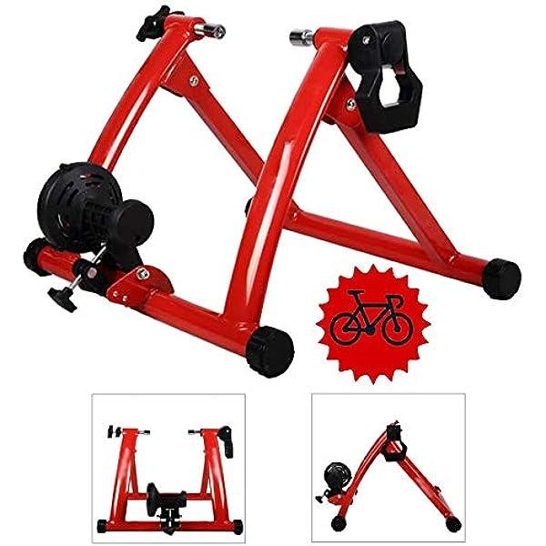 Magnética soporte de la bici Trainer - Montar plataforma de formación - Bastidor de la bicicleta Turbo Trainer bicicletas aptitud del ejercicio estacionario para ...